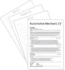automotive cv sample automotive technician resume