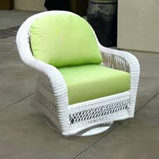 middletown outdoor wicker swivel club patio chair with cushions outdoor
