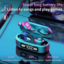 5.0 Bluetooth Wireless Earphone <b>F9 6 TWS Wireless Bluetooth</b> With ...