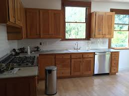 White Maple Cabinets With Corian Countertops Very Well Granite