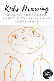 Drag your finger (kids will use their felt markers if you join the dots to the sides of the line, like this and you have a rectangle shape. Kids Drawing How To Encourage Creativity Skills Confidence