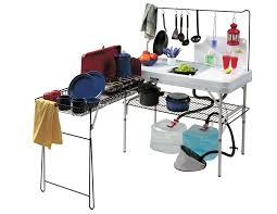 Camping Kitchen Wanderer Kitchen Table Bcf Australia Camping Kitchen Table With