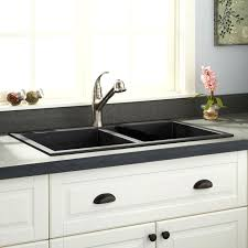 Granite Sink Vs Stainless Steel Composite  Startling Home Design  E19