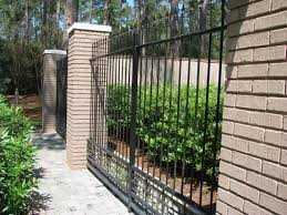 wrought iron fence ideas. Contemporary Wrought Brick Wrought Iron Fence Designs To Ideas P