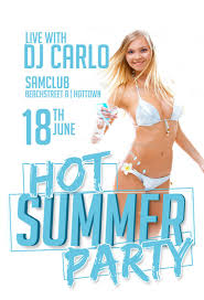 the best spring flyer psd templates for photoshop hot summer party psd flyer template enjoy ing
