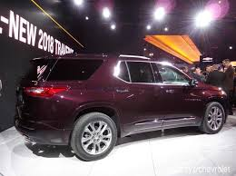 2018 chevrolet traverse redesign.  redesign 2018 chevrolet traverse 3 row crossover gets full redesign new engines in  detroit inside chevrolet traverse redesign s