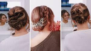 3 easy updos for short um length hair ashley bloomfield bloomingbride series