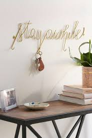 Encourage your guests to stay a while and give them a place to hang their  keys while they're visiting with this unique key holder.
