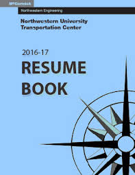 Resume Book 2016 2017 Web Access Transportation Center