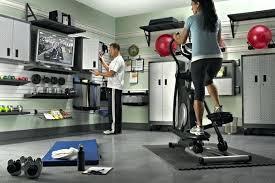 diy garage gym ideas equipment storage56