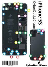 Organized Iphone 5s Screw Size Iphone 5c Screw Chart Pdf