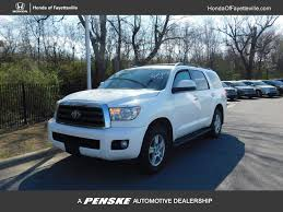 2014 Used Toyota Sequoia 4WD 5.7L FFV SR5 at Toyota of ...