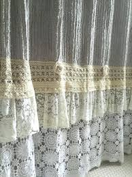 light gray shower curtain full image for lace ruffle shower curtain grey chenille hallstrom home 1 light gray shower curtain