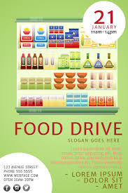 Food Drive Posters Food Drive Flyer Template Postermywall