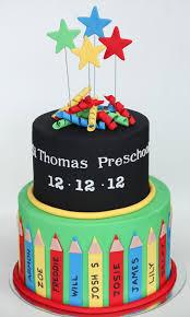 Graduation Cake Design For Kindergarten