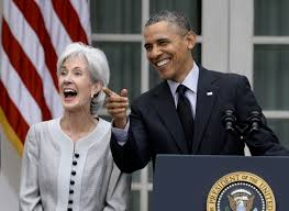 Image result for kathleen sebelius laughing