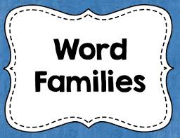 Image result for word families