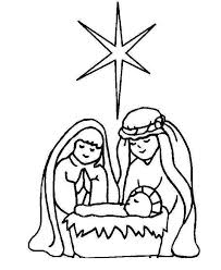 Nativity Coloring Pages Free Fan Art Scene Scene 1003 Super