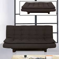 Shop BH Design Clack Graphite Blue Polyester Futon at Lowes