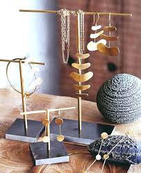 necklace display stand jewelry supplies brass plated classic to diy earring necklaces image d