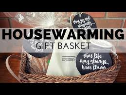 how to make a housewarming gift basket