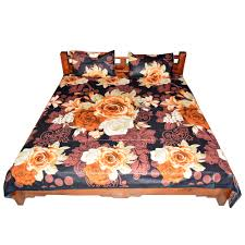 floral pattern procion print double bed sheet and pillow covers sheets28 sheets