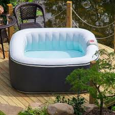 aqua spa deluxe 4 6 person portable inflatable spa by blue water toys isph050015