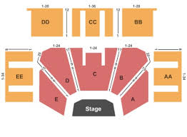 Treasure Island Event Center Tickets Seating Charts And