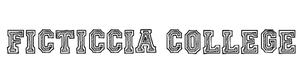 collage fonts free ficticcia college font free fonts download
