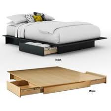 platform beds with storage. This Sleek Storage Platform Bed Features A Rich, Dark Chocolate Finish And Two Large Drawers On Each Side. Straight Lines Contemporary Styling Beds With
