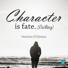 Heraclitus Quotes Stunning Heraclitus Of Ephesus Quote Destiny Quote Character Is Fate