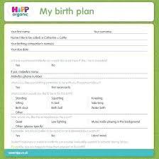 Sample Natural Birth Plan Sample Birth Plan Andeshouse Co