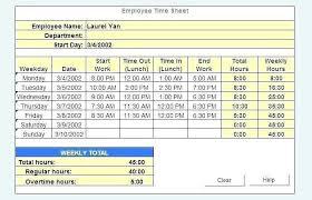 Employee Timesheet Template Excel Spreadsheet Luxury Excel Time Log
