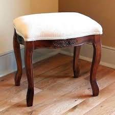 padded vanity stool. Perfect Vanity Sensational Upholstered Vanity Bench Vanities Estate  Wood Stool Ottoman Throughout Padded Vanity Stool L
