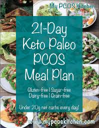Celiac Disease Diet Chart In Urdu 21 Day Keto Paleo Meal Plan For Pcos My Pcos Kitchen