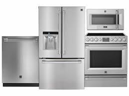 4 Piece Kitchen Appliance Set Kitchen 4 Piece Stainless Steel Kitchen Appliance Package 00006
