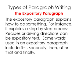 6 Types Of Expository Essays Coursework Example February 2019