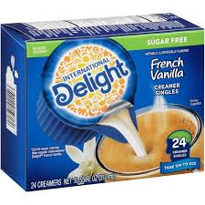 72 ($0.11/count) $5.43 with subscribe & save discount. International Delight Sugar Free French Vanilla Coffee Creamer Singles From H E B In Austin Tx Burpy Com
