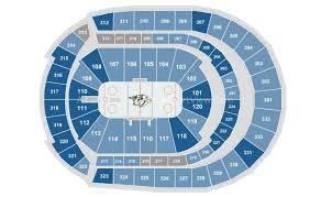 Wwe Raw Seating Chart Bridgestone Arena Bridgestone Arena Nashville Tn Seating Chart View
