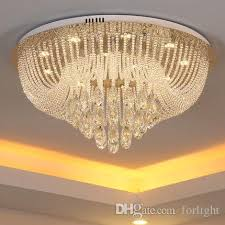 high end pendant lighting. Dimmable Crystal Chandeliers High End K9 Ceiling Luxury Chandelier Lights Pendant Living Room Aisle Hotel Hall Villa Lighting
