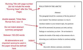 How Cite References In Apa Format Efficient Apa Style Paper Abstract