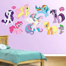 My Little Pony Bedroom Wallpaper Fathead My Little Pony Wall Graphic  Collection Wall Sticker Outlet My Little Pony Bedroom Wallpaper