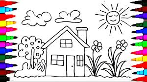 Small Picture How To Draw Kids Playhouse Learning Coloring Pages Videos for
