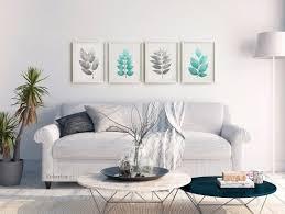 wall prints above sofa wall