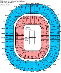 Reasonable Rod Laver Concert Seating Map Melbourne Rod Laver