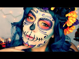 day of the dead mexican sugar skull makeup tutorial lolo love