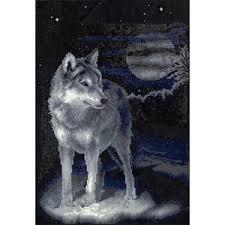 "Кристальная <b>мозаика</b> (<b>Алмазная</b> вышивка) ""<b>ФРЕЯ</b>"" 001 ""Волк ..."