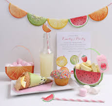 create a fruit theme party with the feeling fruity printables range tinyme