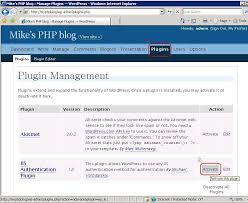 iis authentication plugin for the