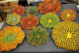 38 Glenda Kronkie Pottery ideas   fused glass, glass art, fused glass art